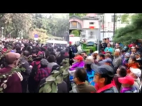 北京金融难友连日集会要求见市长(北京维权_P2P)