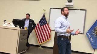 Mullin holds contentious public meeting on impeachment inquiry