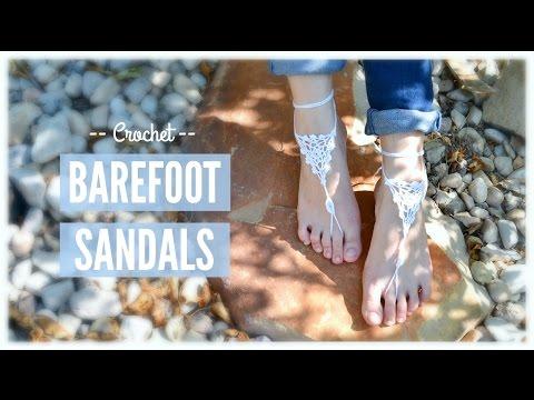 Crochet Barefoot Sandals! | Ms. Craft Nerd