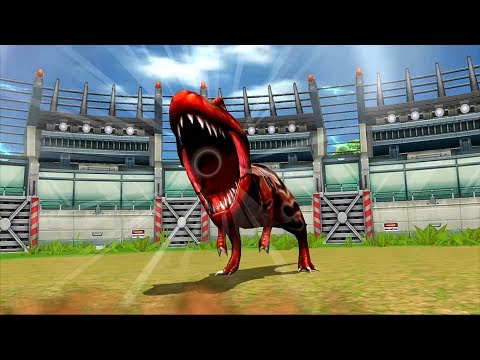 Strongest Tyrannosaurus - Jurassic Park Builder JURASSIC Tournament Android Gameplay HD