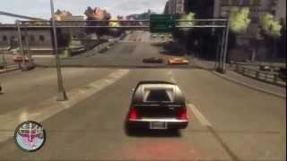 GTA 4 PS3 - Romero on the street!