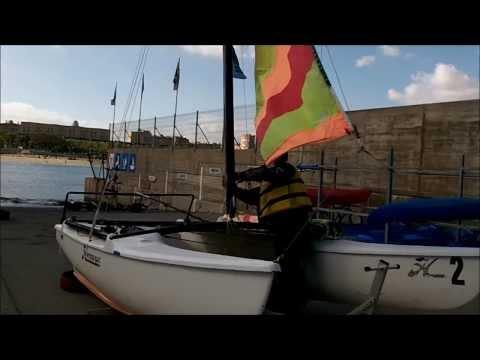 Cómo montar un catamarán Hobbie Cat. @velateam40