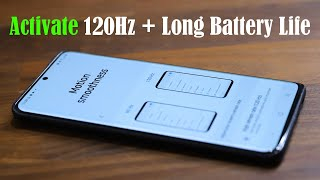Activate Long Battery Life + 120 Hz Refresh Rate on Samsung Galaxy (S20, S20+, S20 Ultra)