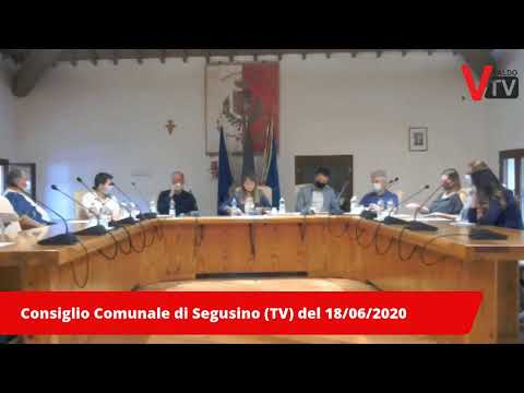 Consiglio Comunale di Segusino (TV) del 18/06/2020