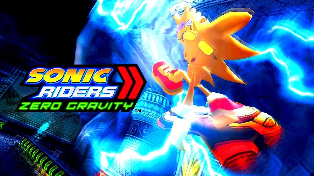 Raiders Wallpaper 3d Sonic Riders Zero Gravity Gigan Device Super Sonic 4k