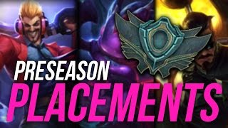 Imaqtpie - PRESEASON PLACEMENT MATCHES!