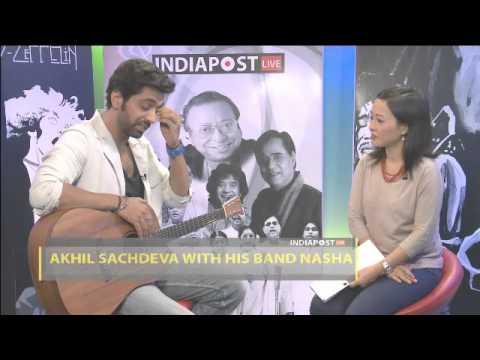 Akhil Sachdeva With His Band Nasha