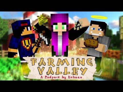 Minecraft: Farming Valley w/ Undecided, GamerSpace #7 - Krówki !