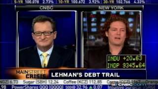 Avatar New York, A NY Web Design Company - Appears on CNBC to Discuss Lehman Brothers