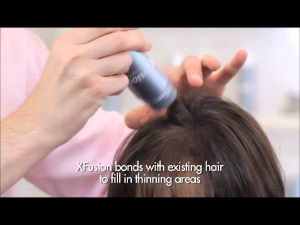 Xfusion Keratin Hair Fibers Hair Replacement System Youtube