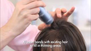 XFusion Keratin Hair Fibers - Hair Replacement System
