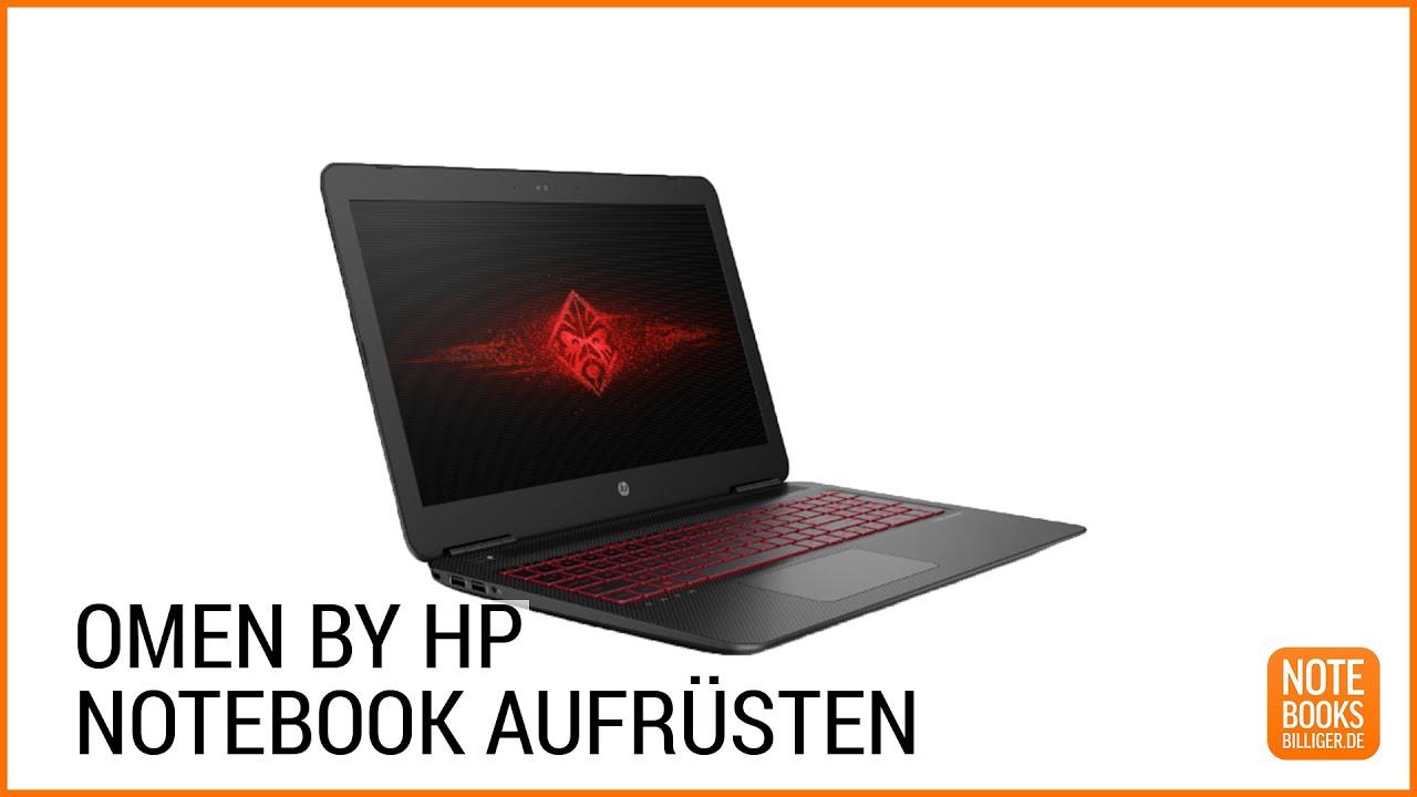 Upgrade OMEN by HP Gaming Notebook erweitern umbauen Deutsch German ■■notebooksbilliger