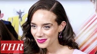 Hannah John-Kamen on the 'Ant-Man and the Wasp' Premiere Red Carpet | THR