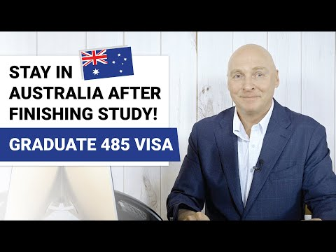How To Get An Australian Graduate Visa (485 Visa). Make Sure