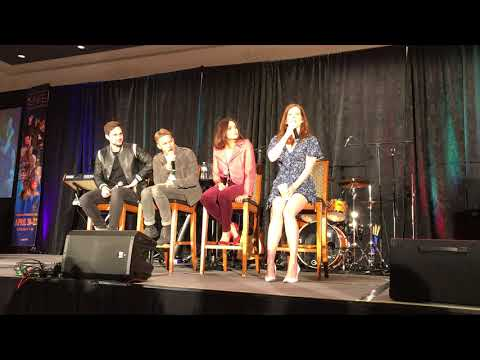 Lana, Sean, Bex, Andrew GOLD panel, Once Chicago 2018