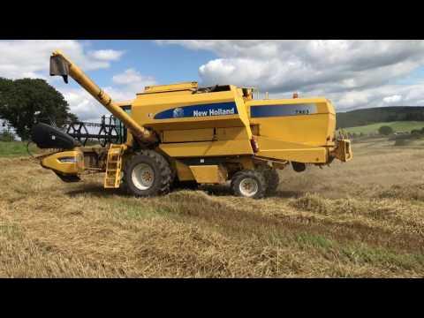 Scottish Wheat Harvest 2017 gtritchie5