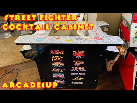 Street Fighter Cocktail - Arcade1Up Cabinet from MRN Bricks