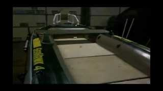 DIY Intex Seahawk 4 Inflatable Custom Bass Boat mod