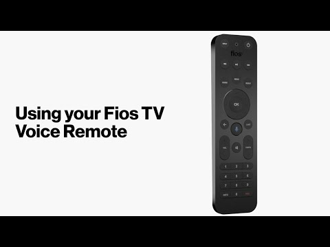 Fios TV One: Using The Fios TV Voice Remote