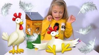 ЧЕЛЛЕНДЖ Побег из курятника Chicken Run Challenge