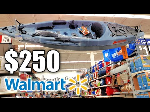 Buying $250 CHEAPEST Fishing Kayak At WALMART! (Worth The Money!)