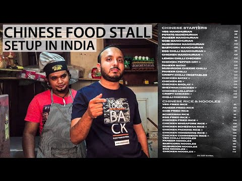 Chinese Kitchen Setup | Tools Required To Set Up A Chinese Food Stall/Gadi/Restaurant