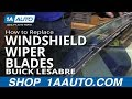 How To Install Replace Windshield Wiper Blades 1997-99 Buick Lesabre
