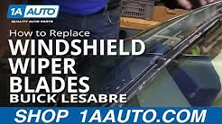 How To Replace Windshield Wiper Blades 97-99 Buick Lesabre