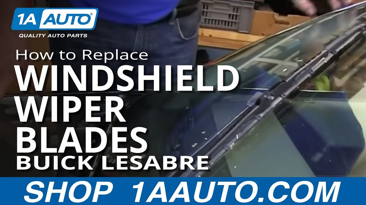 how to install replace windshield wiper blades 1997 99. Black Bedroom Furniture Sets. Home Design Ideas