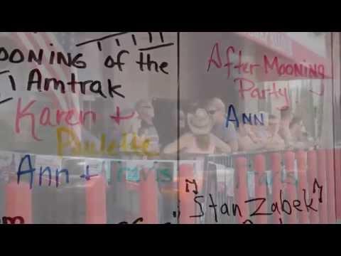 """MOONING"" in Laguna Niguel 2014 Amtrak"
