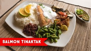 Biba Mes Chamoru | Pika's Cafe Salmon Tinaktak