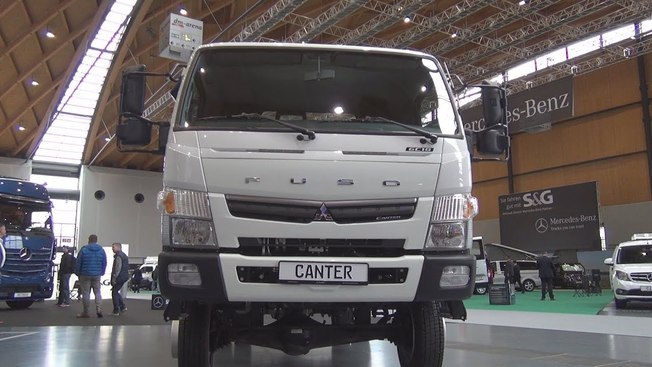 Fuso Canter 6c18 4wd Tipper Truck 2020 Exterior And Interior Youtube
