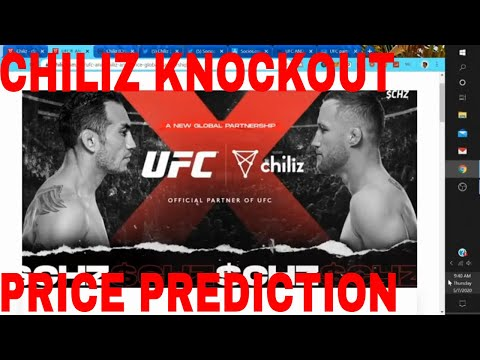 Chiliz Coin Price Prediction UFC Partnership Chiliz Crypto News Chz Coin Bullrun