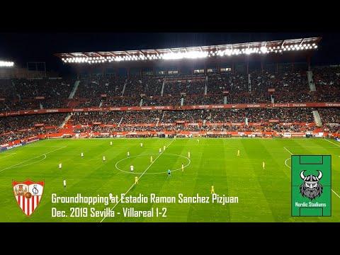 Groundhopping At Estadio Ramon Sanchez Pizjuan In Seville Andalucia Spain Stadium Of Sevilla Fc Youtube