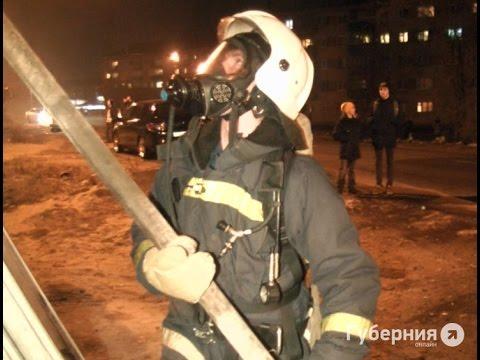 Мини-отель сгорел в Комсомольске-на-Амуре.MestoproTV