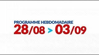 Programme de courses Equipe FDJ : Semaine du 28 août au 3 septembre