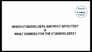 03 - Stakeholder identification and changes (Lean Impact Measurement Webinar part 3)