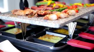 New Velata Raclette Tabletop Grill!