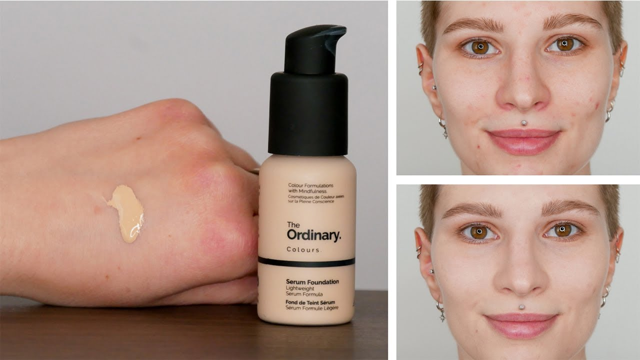 The Ordinary Serum Foundation 1 1n Review How To Properly Use It Youtube