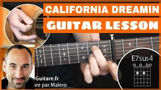 California Dreamin' Guitar Lesson