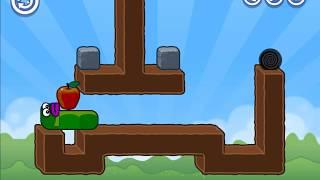 Apple Worm Walkthrough Levels 1 - 20 Cool Math Games