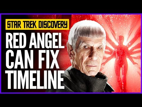 Star Trek Discovery: The Red Angel Paradox