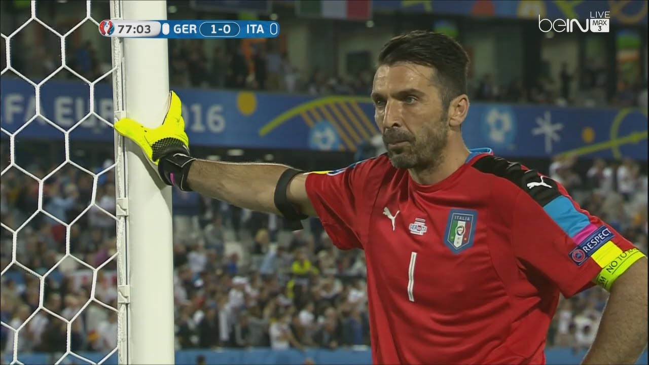 Gianluigi Buffon vs Germany - Euro 2016 (02.07.2016) HD ...
