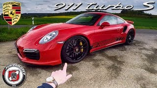 750 HP Porsche 911 Turbo S REVIEW POV Test Drive PP Performance by AutoTopNL