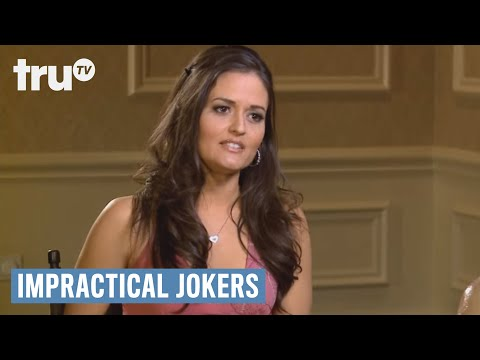 Impractical Jokers - Exposing Interview With Danica McKellar (Punishment) | truTV
