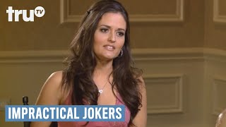 Video Impractical Jokers - Exposing Interview With Danica McKellar (Punishment) | truTV download MP3, 3GP, MP4, WEBM, AVI, FLV Juni 2018