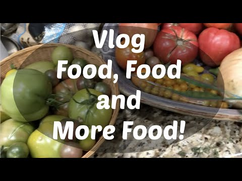 Vlog—Food, Food, and More Food!