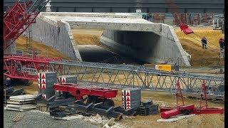 Керченский мост. Сегодня 13.11.2017. Строительство Крымский мост