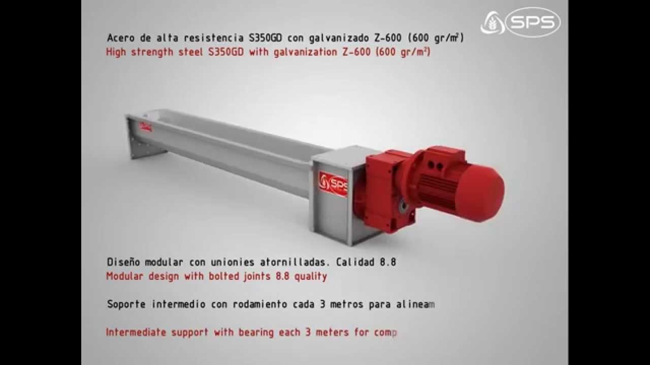 Screw Auger Conveyors | PRADO Storage Project Solutions