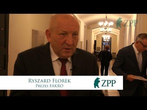 Ryszard Florek, Prezes FAKRO - Posiedzenie w Sejmie RP - 22.09.2016